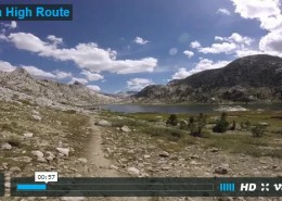 A video on my hike of the Sierra High Route- USA.