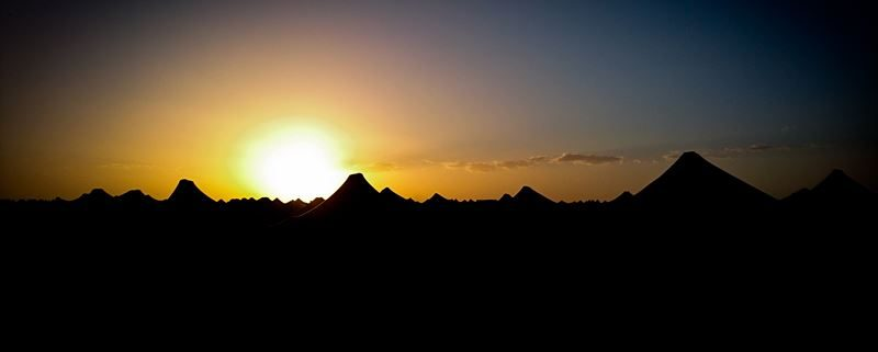 zonsopgang in de Sahara