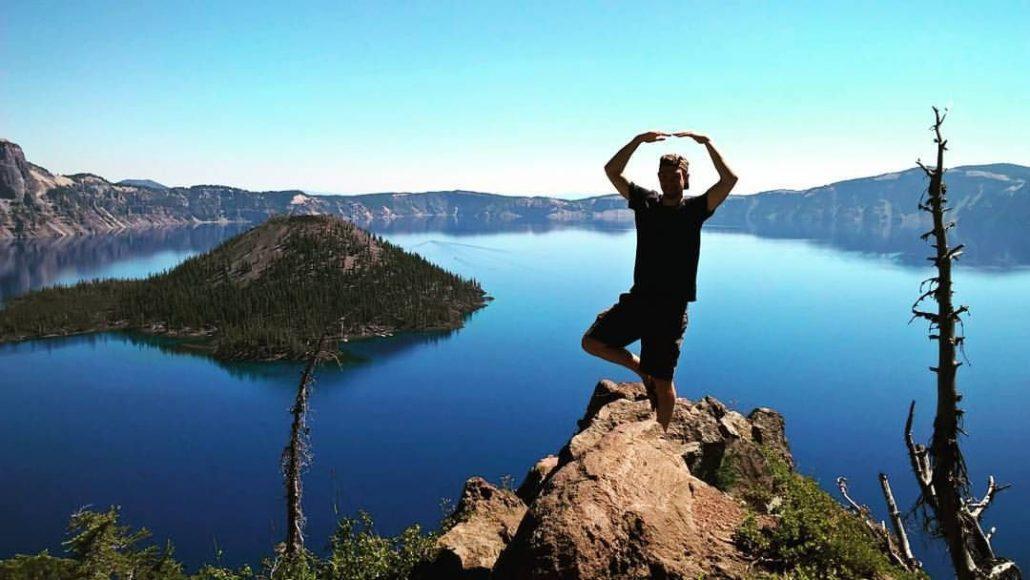 Joren bij Crater lake