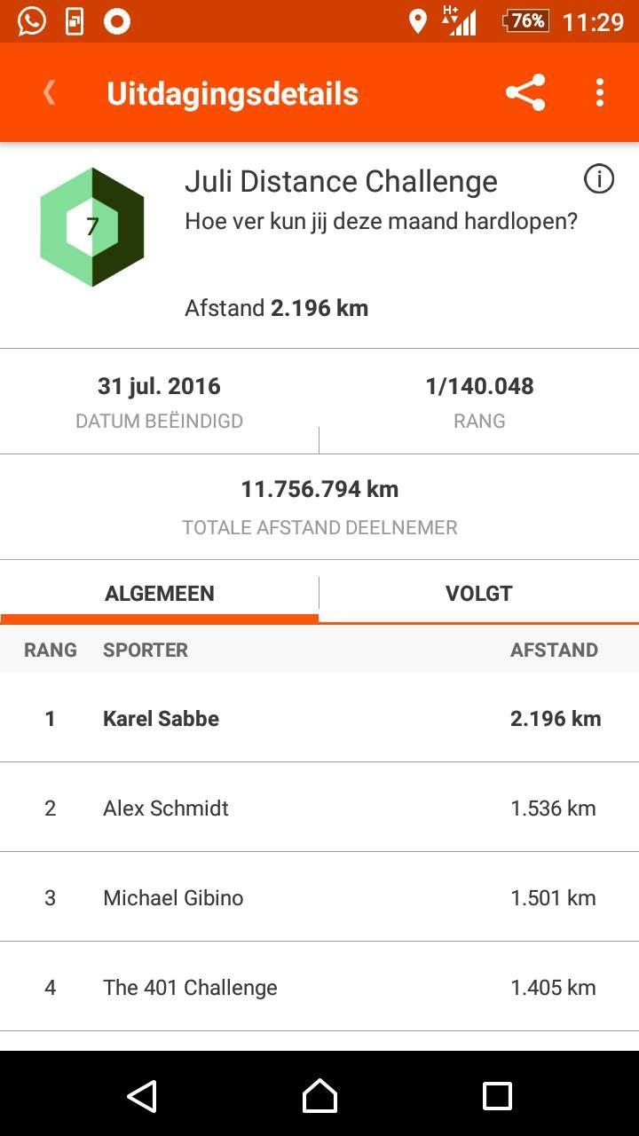 hoeveel stappen in een kilometer