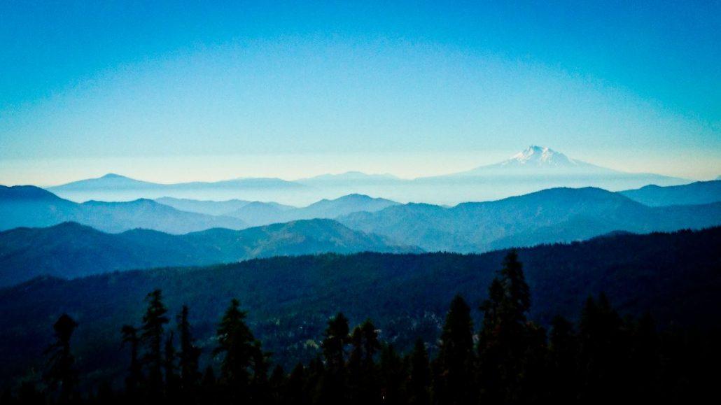 De High Sierra op het PCT pad