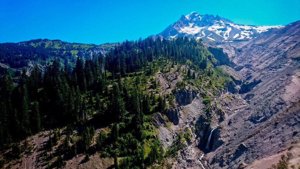 De High Sierra op het PCT pad , prachtige natuur
