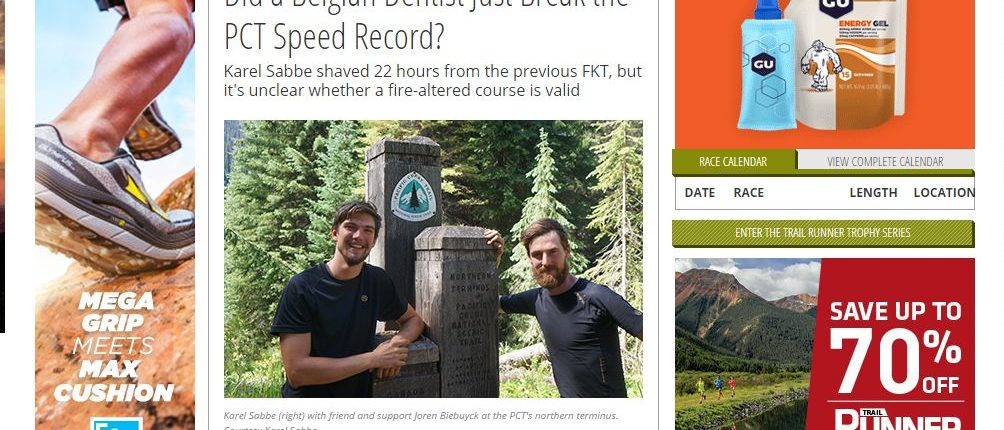 Did a Belgian Dentist Just Break the PCT Speed Record?